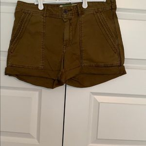 Anthropologie Wanderer Shorts.